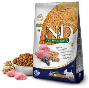 Farmina N&D ANCESTRAL GRAIN д/с MINI ягненок, спельта, овес, черника