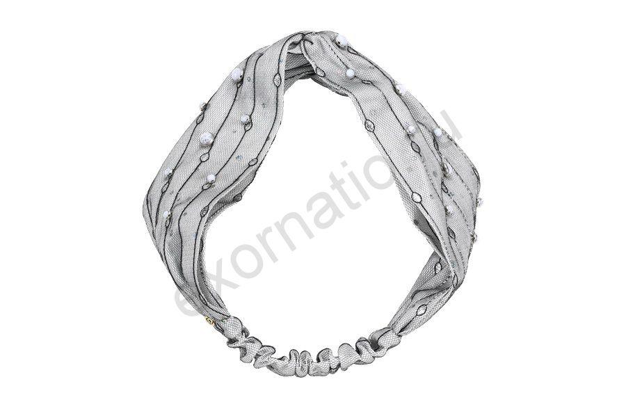 Повязка Evita Peroni 31544-093. Коллекция Miracle Opal white