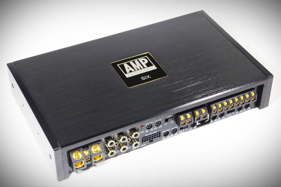 DA-80.6 SIX 6 канальный усилитель 6х80Вт