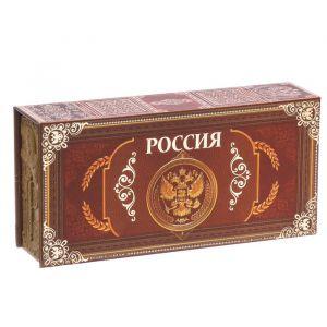 """Шкатулка в картонной обложке """"Россия"""" 3445300"""