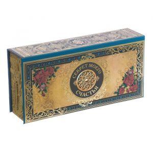 """Шкатулка в картонной обложке """"Секрет моего счастья"""" 3445296"""