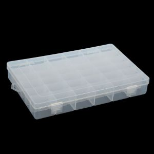 """Шкатулка пластик для мелочей """"Прямоугольная"""" 36 отделений 4,3х27,5х17,8 см 2301114"""