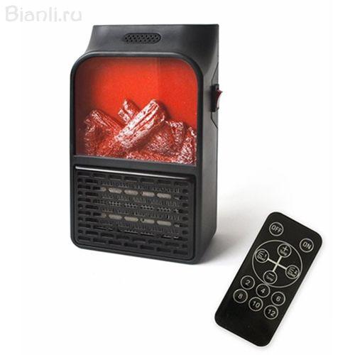 Портативный обогреватель-камин Flame Heater 900Вт