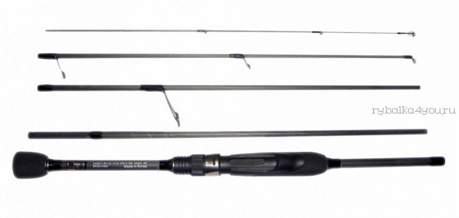 Спиннинг Fish Season Piligrim Light 5 секции / 1.80  м / тест 3-15 г