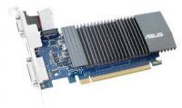 SVGA PCI Express, 1 GB, Asus GT 710 [GT710-SL-1GD5-BRK], DVI/HDMI/VGA, DDR5/32bit, +LP