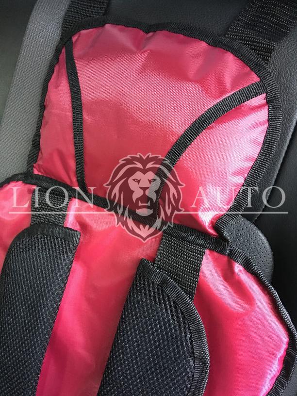 Детское автокресло (Розовое)