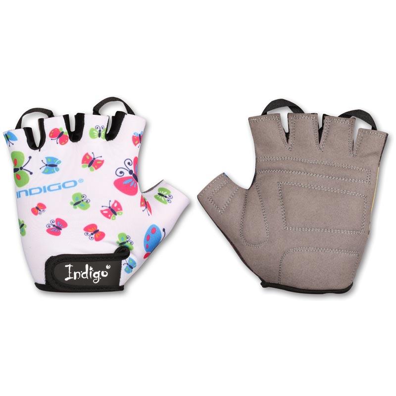 Перчатки вело детские INDIGO BUTTERFLY IN181