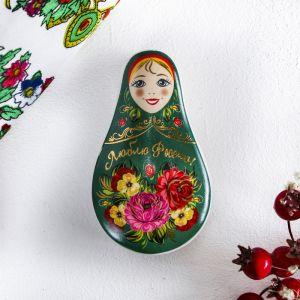 Шкатулка «Люблю Россию. Цветы»