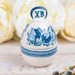 Пасхальная шкатулка-яйцо «Узор»