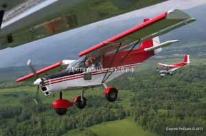 Подарочный Сертификат - полет на Самолете СП-30