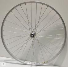 """Колесо 28"""" переднее велосипедное хром"""