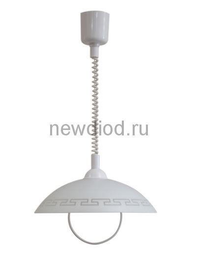 """Светильник """"Этруска"""" 360 НСБ 72-60 М52 матовый белый /лифт белый ИУ"""