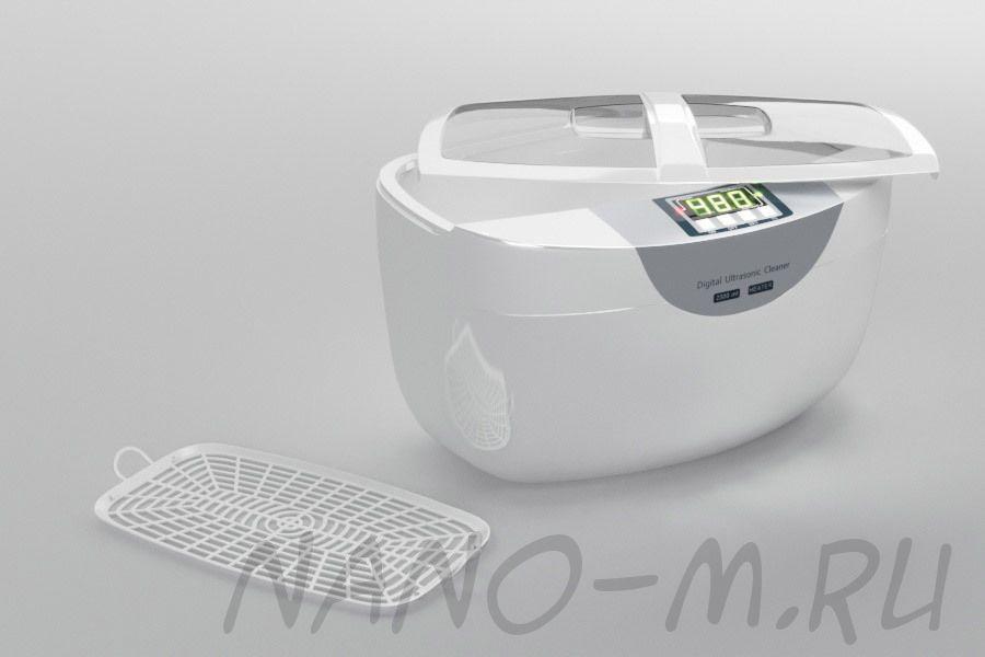 Ультразвуковая ванна (мойка) с подогревом SD-4820, 2 500 мл