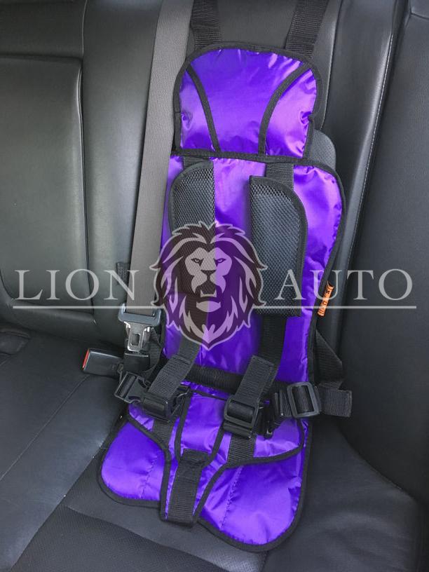 Детское автокресло (Фиолетовое)