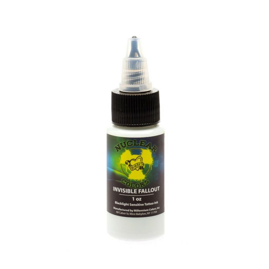 Nuclear UV Invisible Tattoo Ink — Millennium Mom's