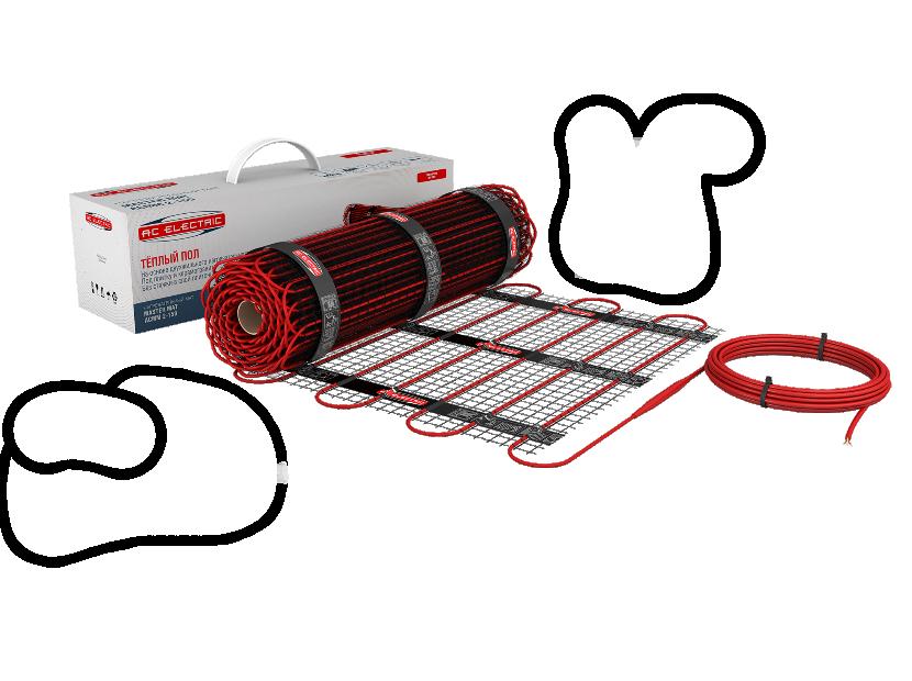 Нагревательный мат AC Electric ACMM 2-150 6м2 900Вт