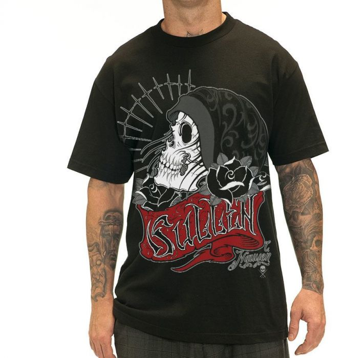 VESSEL Black Men's Sullen Tee Shirt