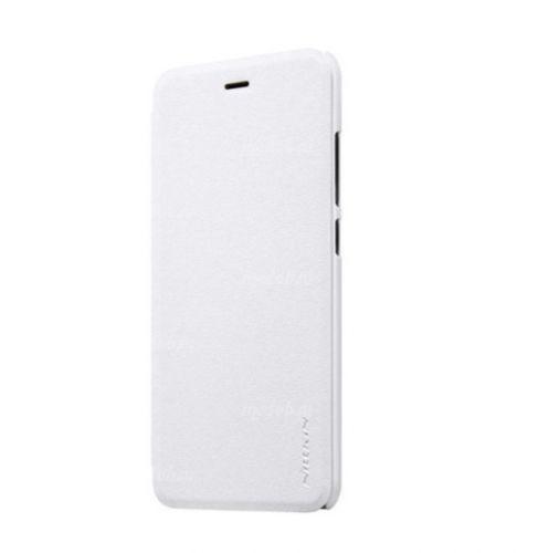 Чехол книжка NILLKIN Sparkle leather case для Xiaomi Mi6 (White)