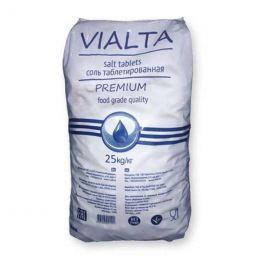 Соль таблетированная VIALTA 25 кг (Израиль)