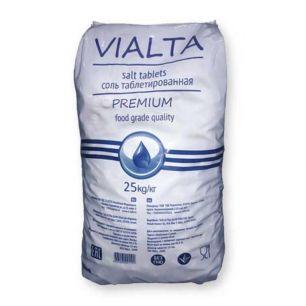 Соль таблетированная VIALTA 25 кг (Израиль) - все для сада, дома и огорода!