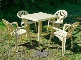 """Набор пластиковой садовой мебели """"Уют"""""""