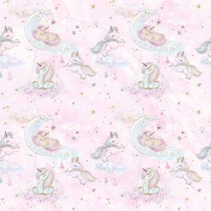 Хлопок Перкаль Розовые сны 50х37