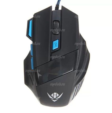 Мышь проводная Nakatomi Gaming MOG-21U (black)