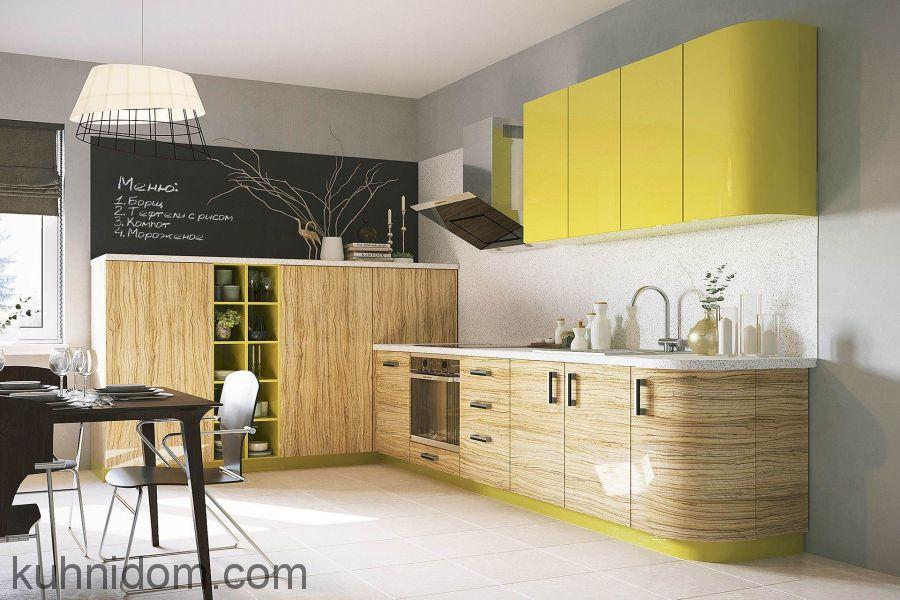 Кухня Legno Bravo Древесная