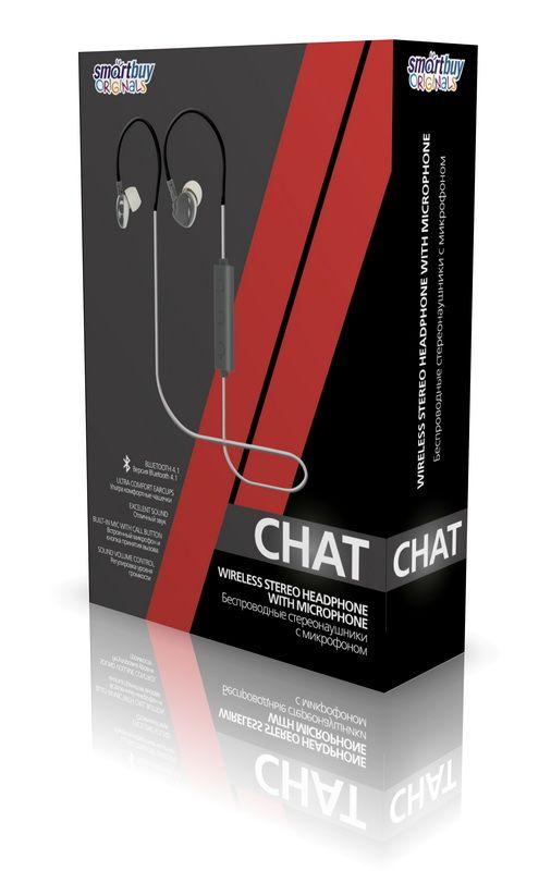 Внутриканальная Bluetooth-гарнитура Smartbuy CHAT