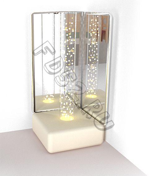 """Комплект """"Сенсорный уголок"""" (Воздушно-пузырьковая трубка, основание, зеркала) RG005"""