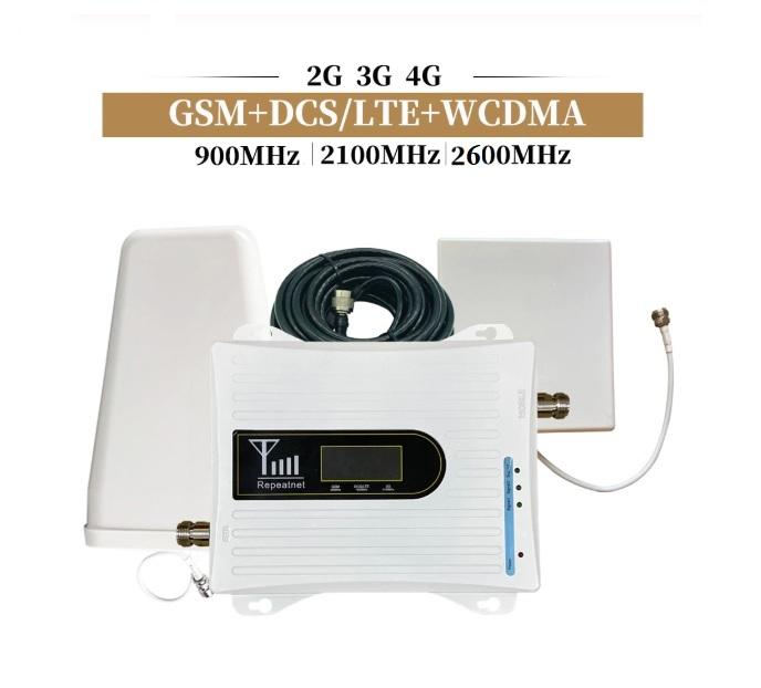 Усилитель сигнала 2G/3G/4G (900/2100/2600 мГц) полный комплект
