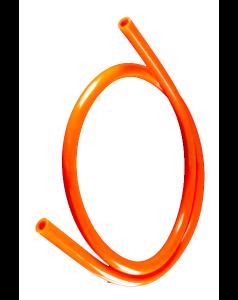 Шланг силиконовый Kaya непрозрачный без логотипа (оранжевый)