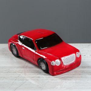 """Копилка """"Машина босса"""", глянец, цвет красный, 10 см"""