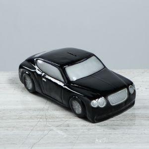 """Копилка """"Машина босса"""", глянец, цвет чёрный, 10 см"""