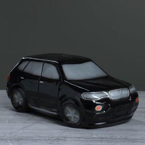 """Копилка """"Машина Бумер"""", цвет чёрный, 12 см, 1 сорт"""
