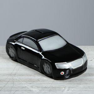 """Копилка """"Машина"""", цвет чёрный, 8 см"""