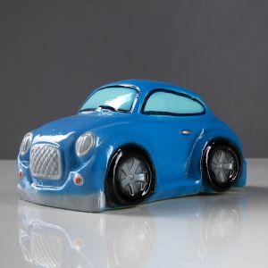 "Копилка ""Купер"", глянец, цвет синий, 10 см"