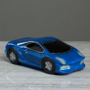 """Копилка """"Машина мечты"""", глянец, цвет синий, 8 см"""