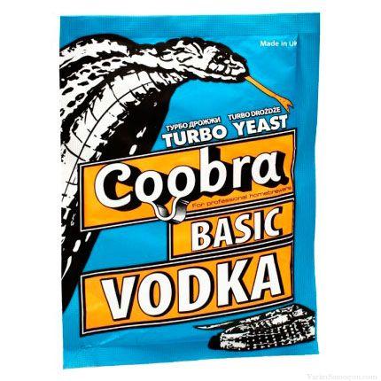 Спиртовые турбо дрожжи Coobra Basic Vodka, 65 г