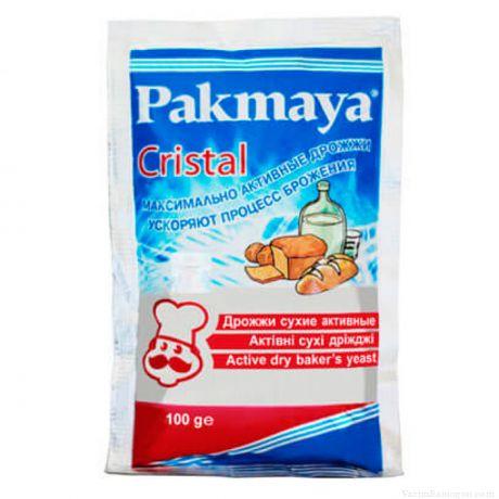 """Спиртовые дрожжи """"Pakmaya Cristal"""", 100 гр"""