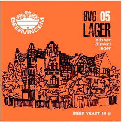 Пивные дрожжи Beervingem Lager BVG-05, 10 г