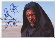 Автограф: Рэй Парк. Звёздные войны: Эпизод 1 – Скрытая угроза