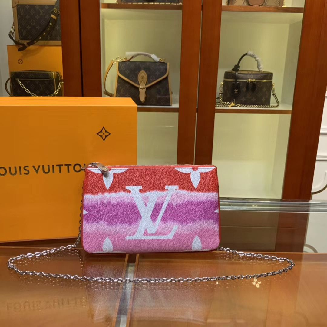Louis Vuitton Escale Pochette Double Zip