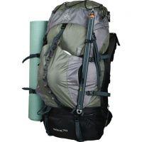 Походный рюкзак Splav Bionic 70 зеленый /серый фото8