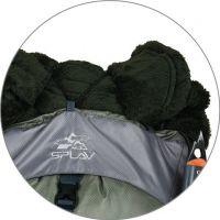 Походный рюкзак Splav Bionic 70 зеленый /серый фото9