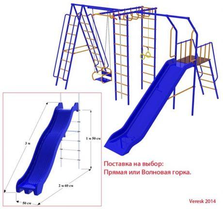 Уличный детский спортивный комплекс Непоседа-Дачник Модель № 19