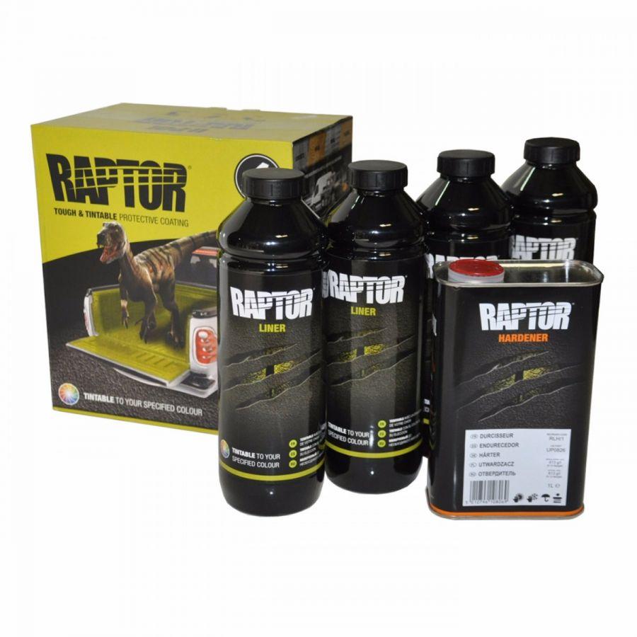 RAPTOR 2K 3:1 Защитное колеруемое покрытие повышенной прочности, комплект 4л