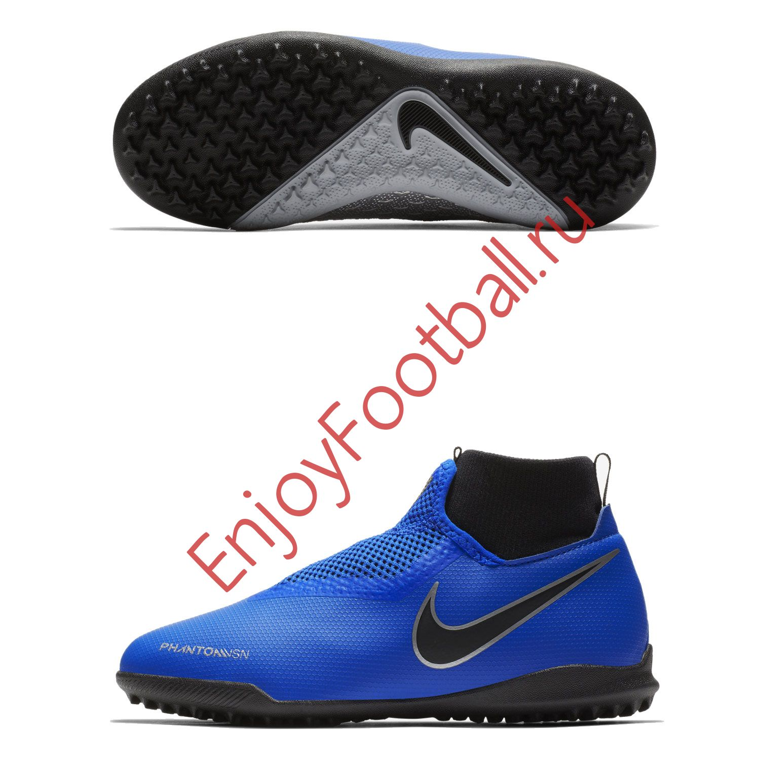 b964820c6e7e Детские шиповки NIKE PHANTOM VSN ACADEMY DF TF AO3292-400 JR купить ...