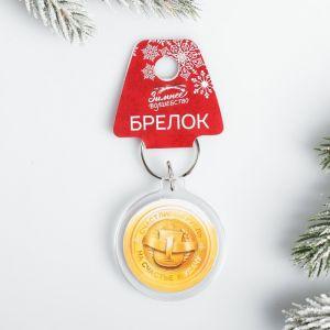 Брелок «Счастливый рубль»