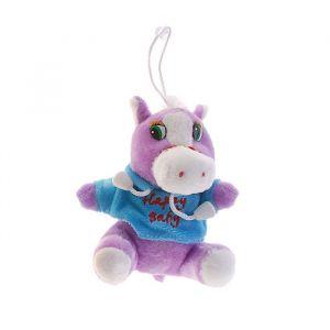 Мягкая игрушка-присоска «Лошадь мальчик», в кофте, цвета МИКС